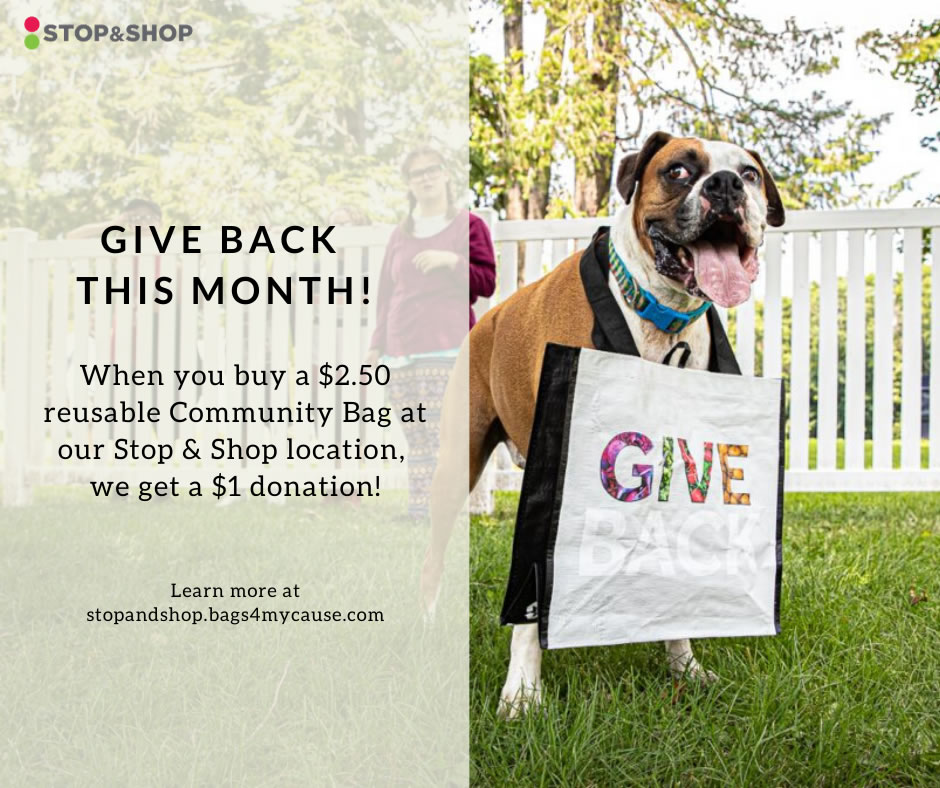 Give Back This Month!